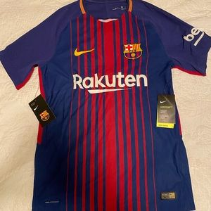 Men's Nike Barcelona soccer jersey NWT